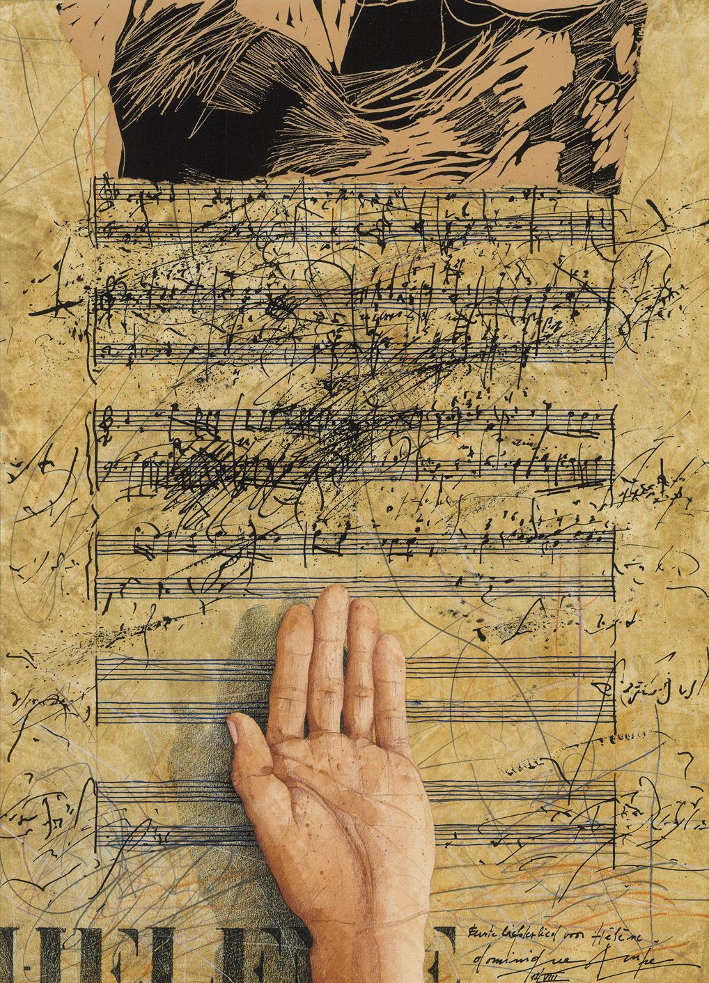 Eerste liefdesbrief voor Helene